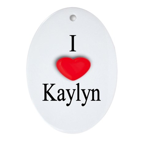 Kaylyn Oval Ornament