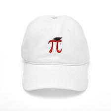 Red Pi Grad Baseball Cap