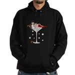 Boston Girl Martini Hoodie (dark)