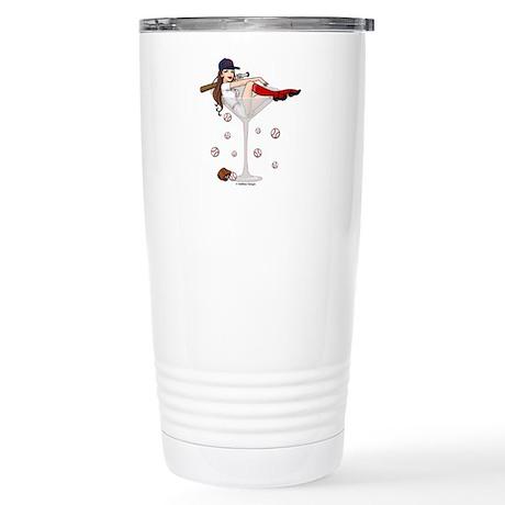 Boston Girl Martini Stainless Steel Travel Mug