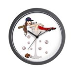 Boston Girl Martini Wall Clock
