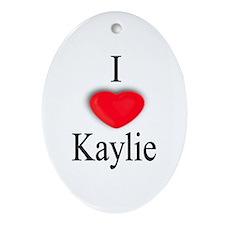Kaylie Oval Ornament