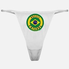 Brasil Futebol/Brazil Soccer Classic Thong