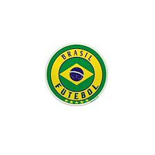 Brasil Futebol/Brazil Soccer Mini Button (10 pack)