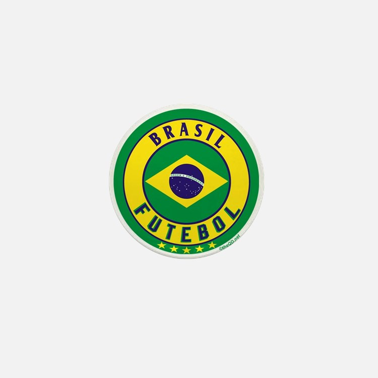 Brasil Futebol/Brazil Soccer Mini Button