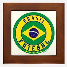 Brasil Futebol/Brazil Soccer Framed Tile