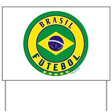 Brasil Futebol/Brazil Soccer Yard Sign