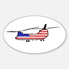 Chinook Patriot Decal
