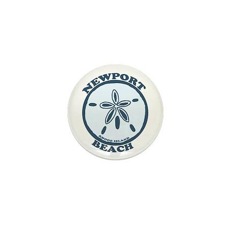 Newport Beach RI - Sand Dollar Design Mini Button