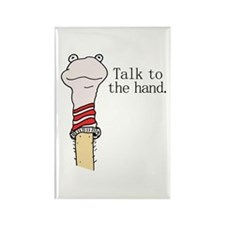 Talk to the Hand Rectangle Magnet (100 pack)