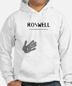 Roswell Logo Merchandise Hoodie