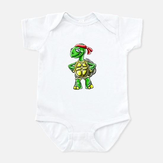 Ninja Turtle Tortoise Infant Bodysuit