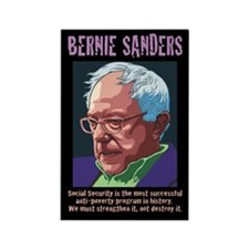 Bernie Sanders -SSI Rectangle Magnet