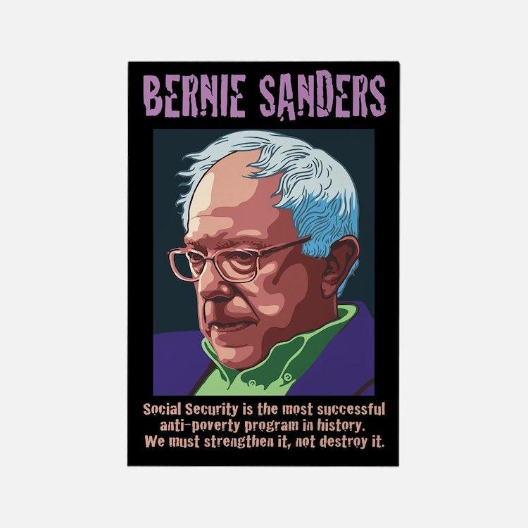Bernie Sanders -SSI Rectangle Magnet