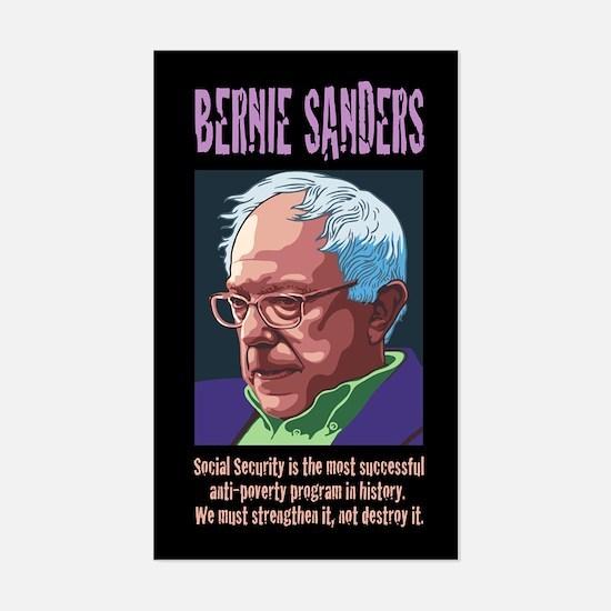 Bernie Sanders -SSI Sticker (Rectangle)
