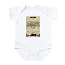 What is a Veteran Infant Bodysuit