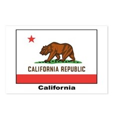 California State Flag Postcards (Package of 8)
