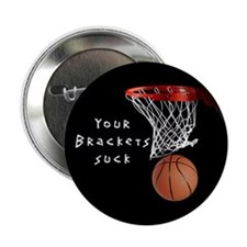 """Funny Hoops 2.25"""" Button"""