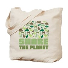 Share The Planet Tote Bag