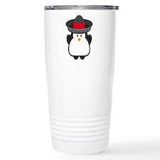 Cinco De Mayo Penguin Travel Mug