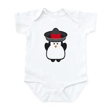 Cinco De Mayo Penguin Infant Bodysuit