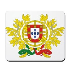 Portugal Coat of Arms Mousepad