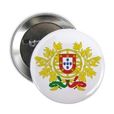 "Portugal Coat of Arms 2.25"" Button"