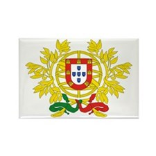 Portugal Coat of Arms Rectangle Magnet