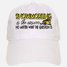 Snowmobiling Is the Answer Hat
