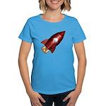Lucky Rocketship Women's Dark T-Shirt
