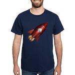 Lucky Rocketship Dark T-Shirt