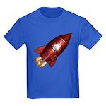 Lucky Rocketship Kids Dark T-Shirt