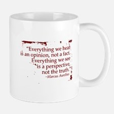 Everything we hear is an opin Mug