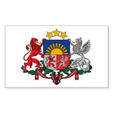 Latvia Coat of Arms Decal