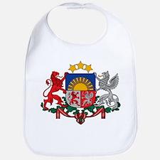 Latvia Coat of Arms Bib