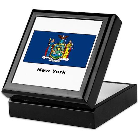 New York State Flag Keepsake Box