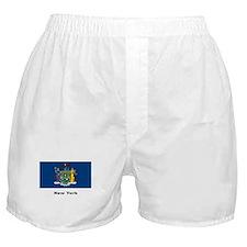 New York State Flag Boxer Shorts