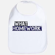 What Homework? Bib