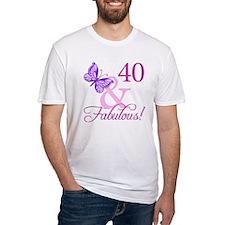 40 & Fabulous (Plumb) Shirt