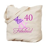 40 and fabulous Bags & Totes