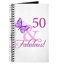 50 & Fabulous (Plumb) Journal