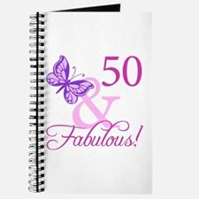 50 & Fabulous (Plumb) Journal