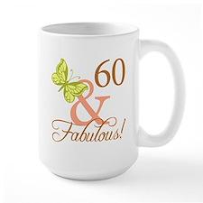 60 & Fabulous (Autumn) Mug