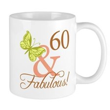 60 & Fabulous (Autumn) Mug