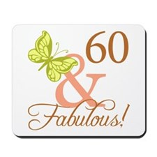60 & Fabulous (Autumn) Mousepad