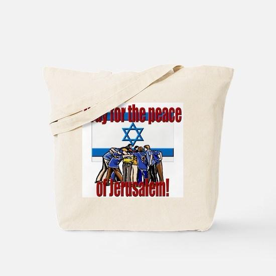 Peace of Jerusalem! Tote Bag