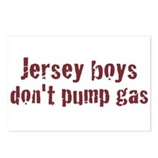 Jersey Boys Don't Pump Gas Postcards (Package of 8
