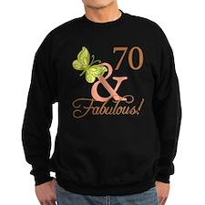 70 & Fabulous (Autumn) Sweatshirt