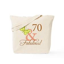 70 & Fabulous (Autumn) Tote Bag