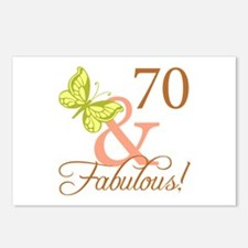 70 & Fabulous (Autumn) Postcards (Package of 8)